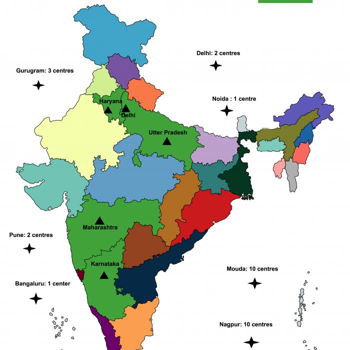 UPAY Pan India presence